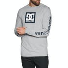 DC Square Star Mens Long Sleeve T-Shirt