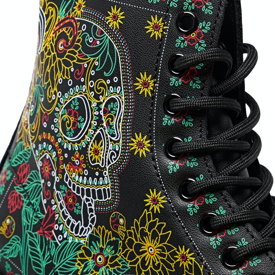 Dr Martens 1460 Day Of The Dead Boots