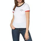 Volcom Go Faster Ringer Ladies Short Sleeve T-Shirt