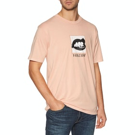 T-Shirt à Manche Courte Volcom Reacher - Reef Pink