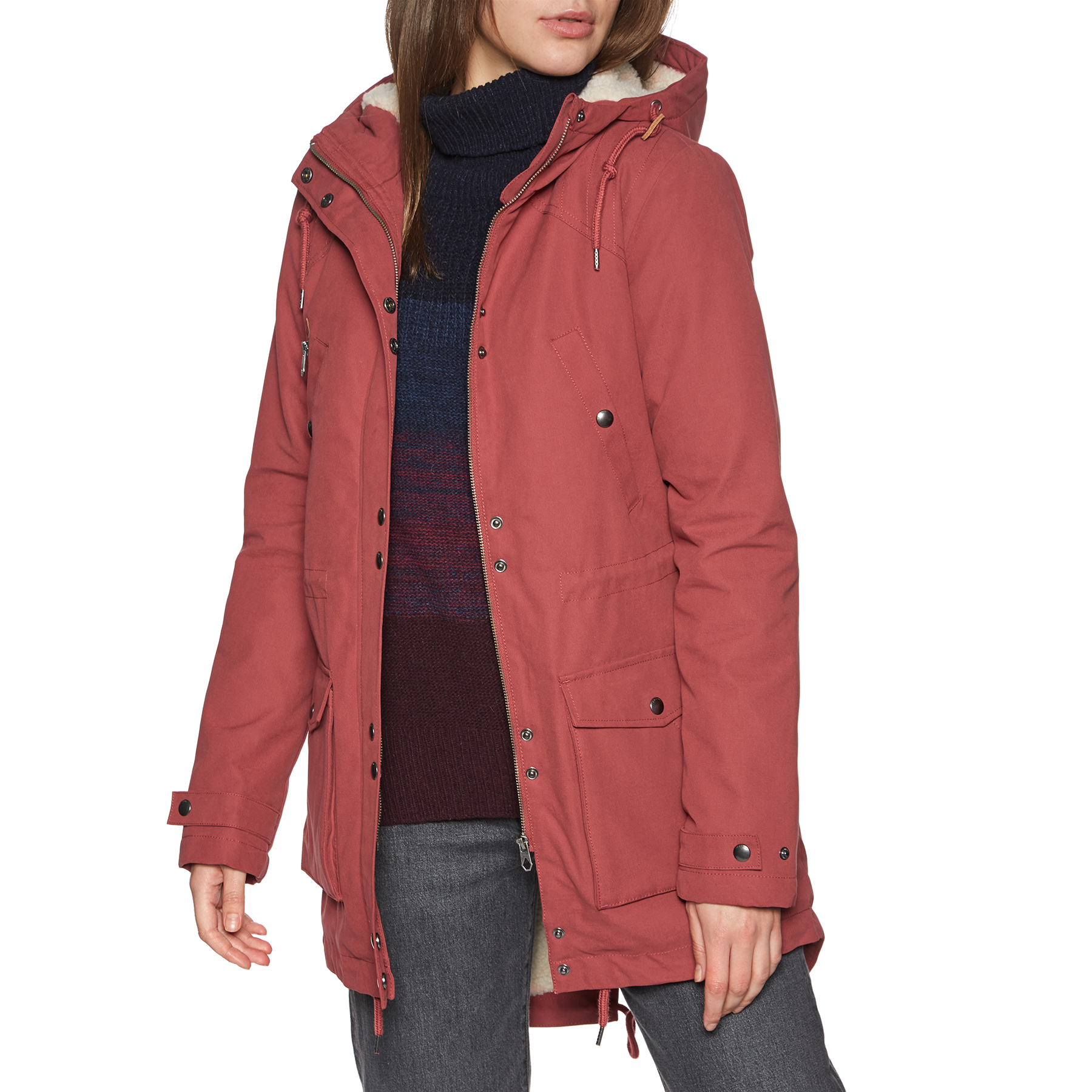 Volcom Walk On By Parka Ladies Jacket from Magicseaweed