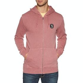 Vissla Solid Sets Fleece Zip Hoody - Erasure