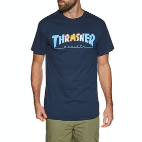 Thrasher Argentina Short Sleeve T-Shirt - Navy