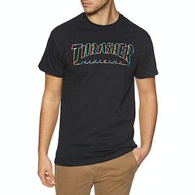 Thrasher Spectrum Short Sleeve T-Shirt - Black