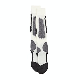 Falke Ess SK4 Wool Womens Snow Socks - Off White