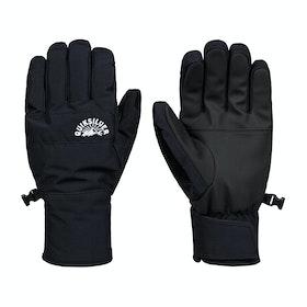 Gants de ski Quiksilver Cross - Black