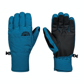 Quiksilver Cross Snow Gloves - Lyons Blue