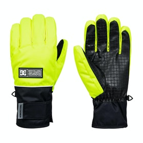 DC Franchise Snow Gloves - Safety Yellow