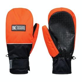 Gants de ski DC Franchise Mitt - Shocking Orange