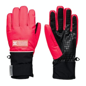 DC Franchise Snow Womens Snow Gloves - Diva Pink