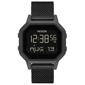 Nixon Siren Milanese Womens Watch - All Black