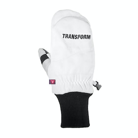 Transform Photo Incentive Mitt Snow Gloves - White