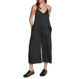 Volcom Madly Yours Jumpsuit - Black