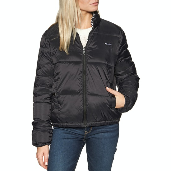 Volcom Puffs N Stuf Reversible Womens Jacket