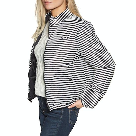 Volcom Puffs N Stuf Reversible Ladies Jacket