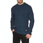Deus Ex Machina Mixed Yarn Crew Sweater
