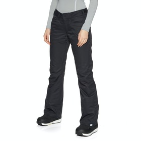 Roxy Backyard Womens Snow Pant - True Black