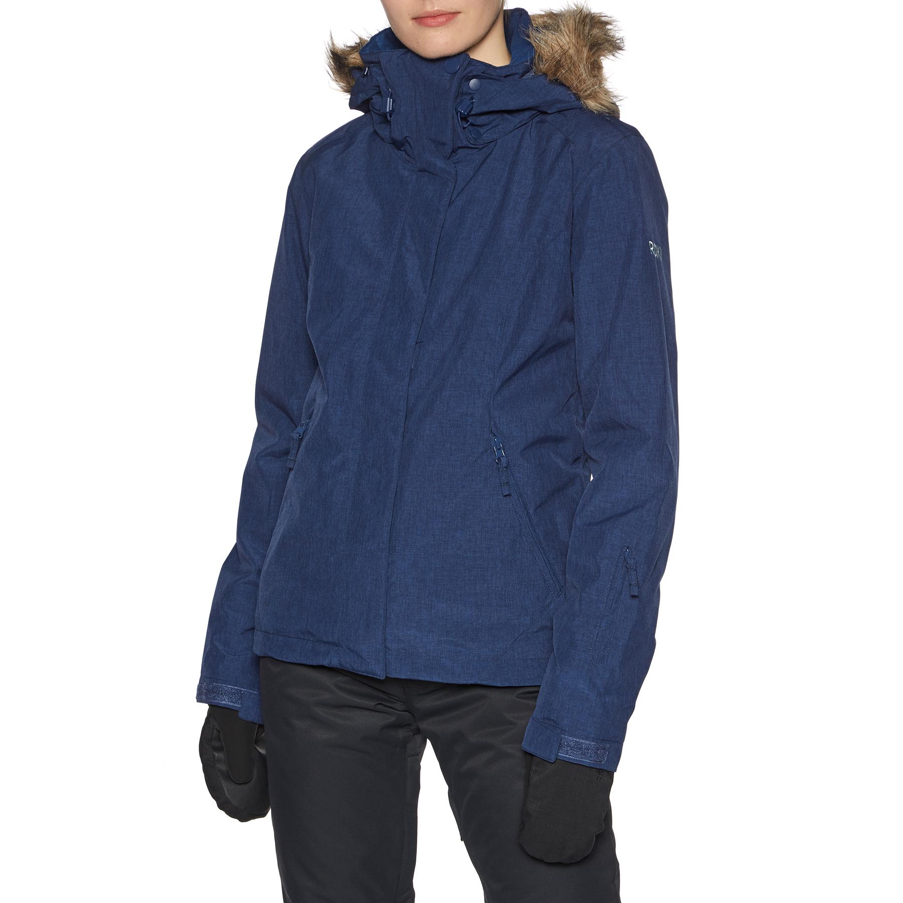 Roxy Jet Ski Solid Snowboardjacke für Damen Blau