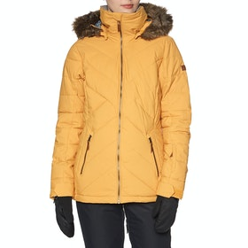 Roxy Quinn Womens Snow Jacket - Spruce Yellow