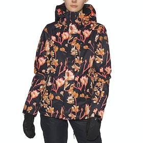 Roxy Torah Bright Jetty Womens Snow Jacket - True Black Magnolia
