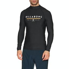 Billabong Unity Long Sleeve Rash Vest - Black