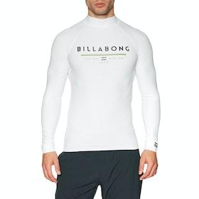 Billabong Unity Long Sleeve Rash Vest - White