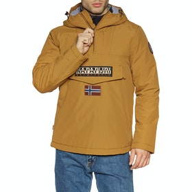 Napapijri Rainforest Winter Waterproof Jacket - Golden Brown