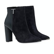 Ted Baker Inala Detail Suede Damen Stiefel