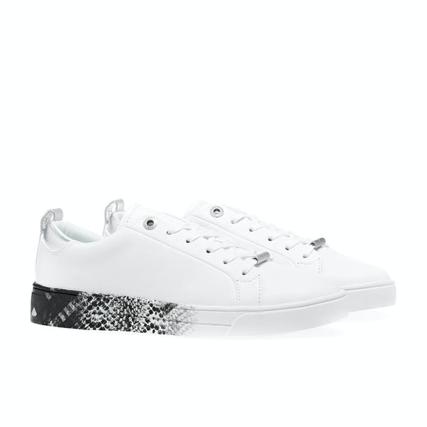 Ted Baker Relina Printed Sole Lace Up Tennis Trainer Damen Schuhe