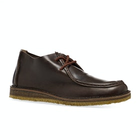 Astorflex Beenflex Boots - Dark Chestnut Leather