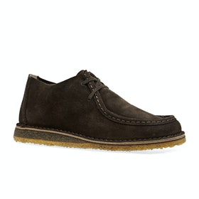 Astorflex Beenflex ブーツ - Dark Chestnut Suede