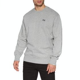 Deus Ex Machina Standard Conner Crew Sweater - Grey Marle