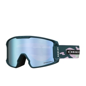 Oakley Line Miner XM Snow Goggles - Pink ~ Prizm Sapphire
