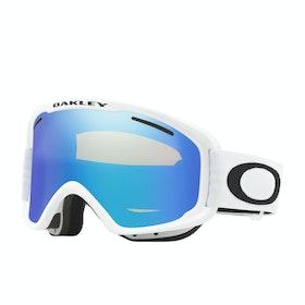 Oakley O Frame 2.0 Pro XM Snow Goggles - Matte White ~ Violet Iridium & Persimmon