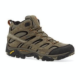 Merrell Moab 2 Leather Mid GTX Walking Boots - Pecan