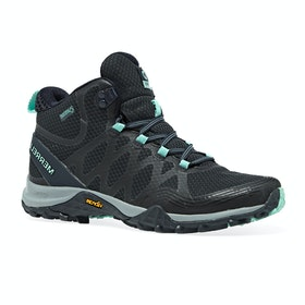 Merrell Siren 3 Mid GTX Womens Walking Boots - Navy Blue