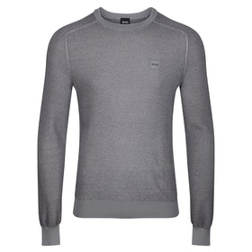 BOSS Akustor Sweater - Medium Grey