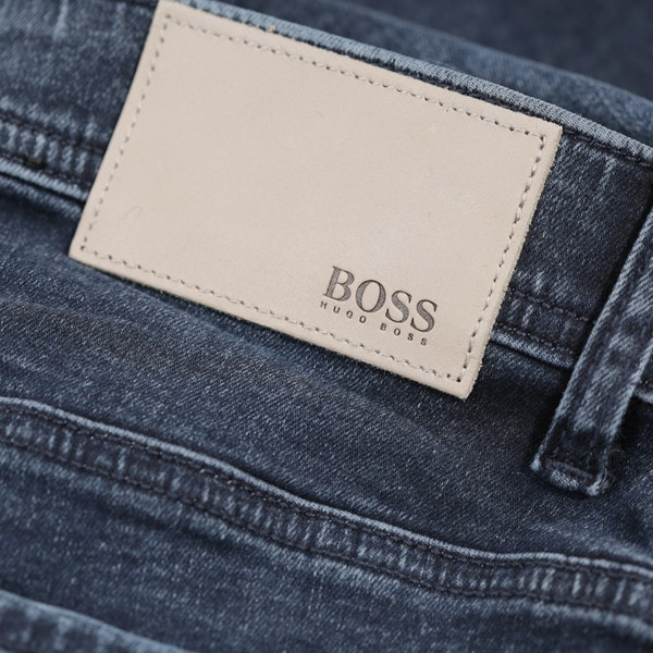 BOSS Tapered Super Stretch Mens ジーンズ