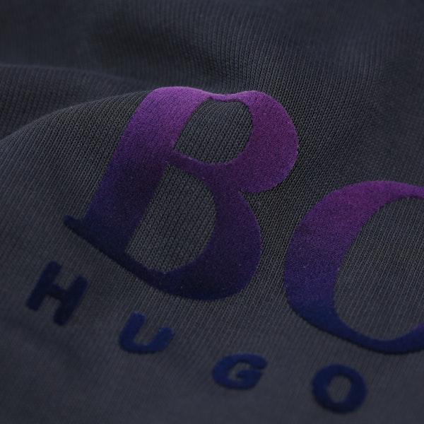 BOSS Flocked Logo Pullover hettegenser