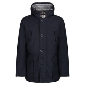 Hackett Arctic Parka Jacket - Navy