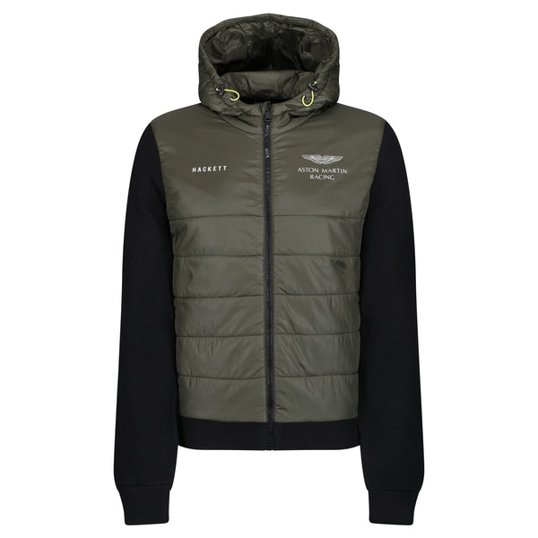 Hackett Aston Martin Racing Quilted Front Jacket