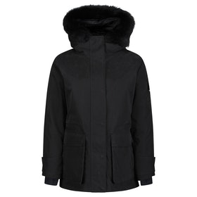 49 Winters The Mid Parka Women's Jacket - Black Black