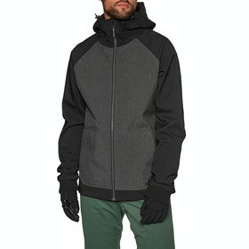 Billabong Downhill Softshell Snow Jacket - Iron Heather