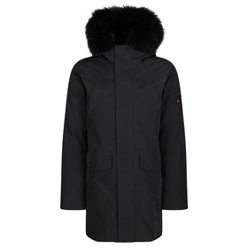 49 Winters The Parka Men's Down Jacket - Fur Black