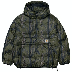 Carhartt Jones Pullover ジャケット - Camo Tree Green