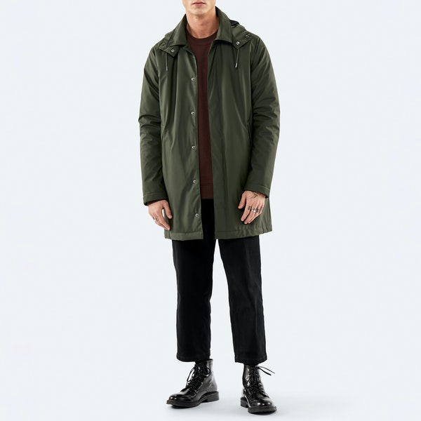 Rains Mac Coat Jacket
