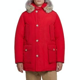 Woolrich Arctic Parka Df Jacket - Marine Scarlet