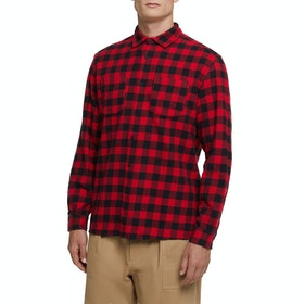 Woolrich Classic Flannel Shirt - Red Buffalo