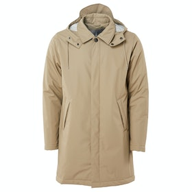 Rains Mac Coat Modejakke - 35 Beige