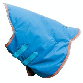 Shires Highlander Original 200g Neck Cover - Royal Orange Light Blue